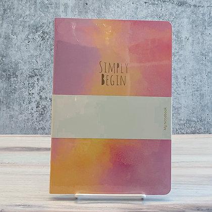 Color Splash Journal - Assorted Colors
