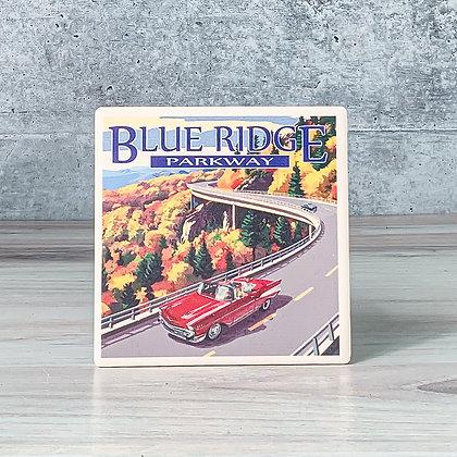 Ceramic Coaster - Blue Ridge Parkway