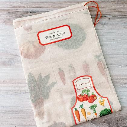 Vegetable Garden Vintage Apron