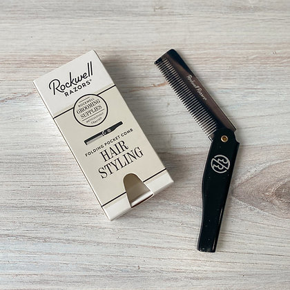 Folding Pocket Hair Comb