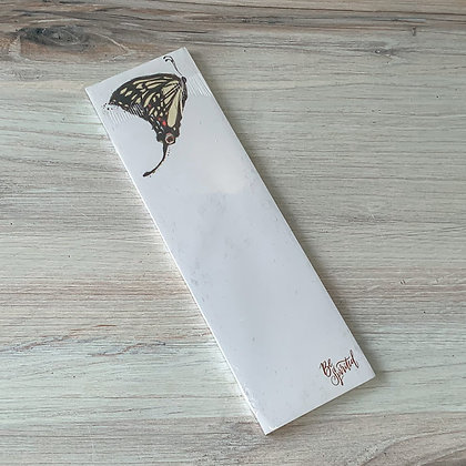 Butterfly List Notepad - Be Spirited