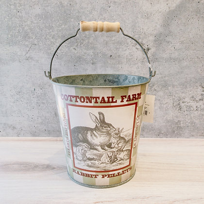 Cottontail Farm Bucket
