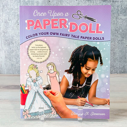 Once Upon a Paper Doll Coloring Book