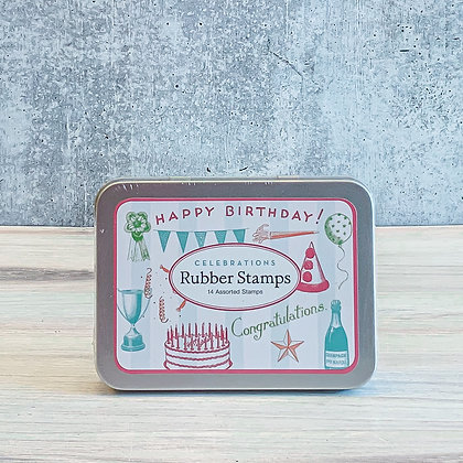 Celebrations Rubber Stamps