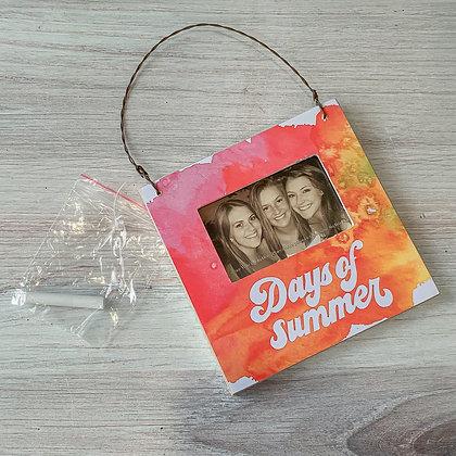 """Mini Frame - """"Days of Summer"""""""