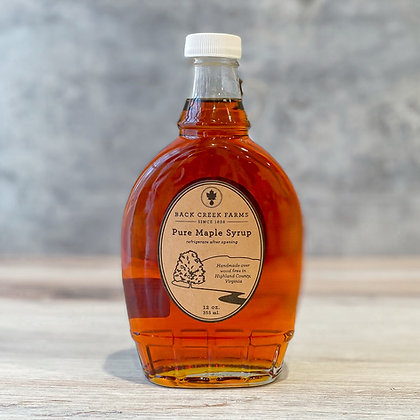 Virginia Pure Maple Syrup 12oz