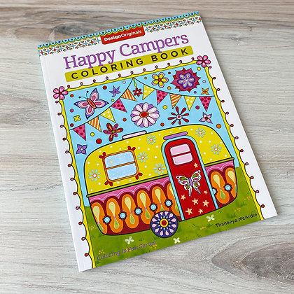 Happy Camper Coloring Book