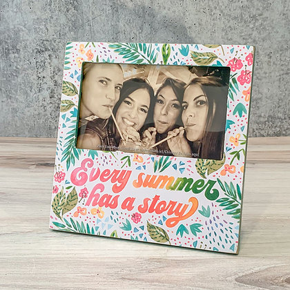 """Plaque Frame - """"Every Summer Has a Story"""""""