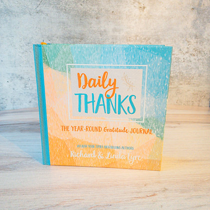 Daily Thanks Year Round Gratitude Journal