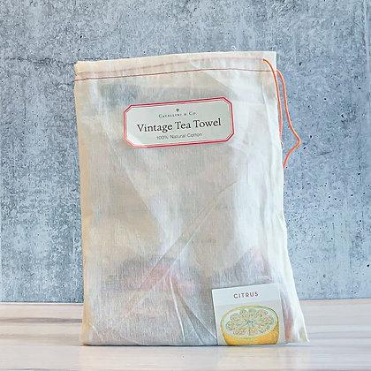 Citrus Vintage Tea Towel - Cavallini