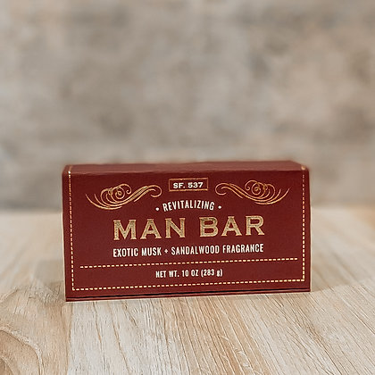 Revitalizing Man Bar - Exotic Musk & Sandalwood