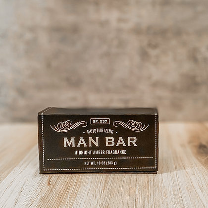 Moisturizing Man Bar - Midnight Amber