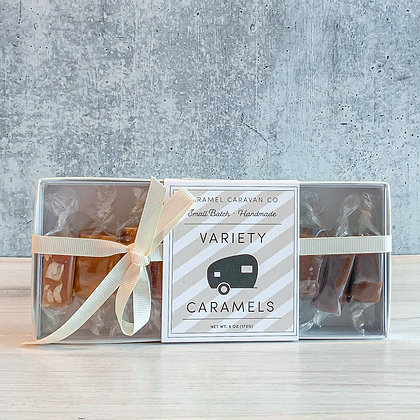 Variety Caramels - 10 Piece Box