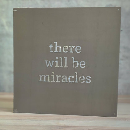 Wall Metal Art - Miracles