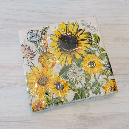 Sunflower Cocktail Napkins