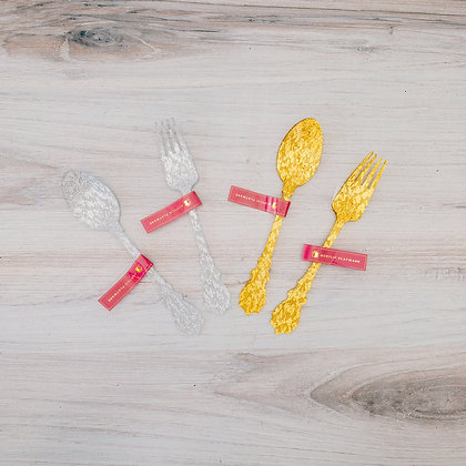 Single Acrylic Spoons and Forks