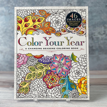 """Color Your Year"" Coloring Book"
