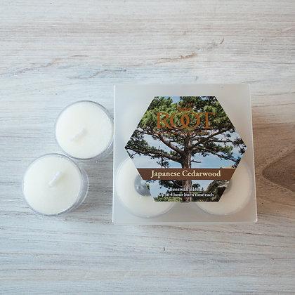Japanese Cedarwood Tealights