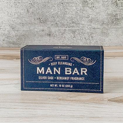 Man Bar - Silver Sage + Bergamont