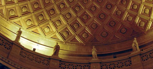 Gould Memorial Library. NY University