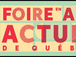 Julien Lebargy à la Foire d'Art Actuel de Québec