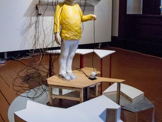 Julien Lebargy expose tout l'été à la Maison Tessier-dit-Laplante.