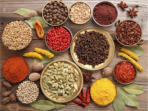 Exotic Spices Pack