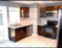 Kitchen remodel with stanless steel appliances