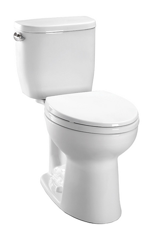 TOTO TOILET ENTRADA TWO-PIECE ELONGATED