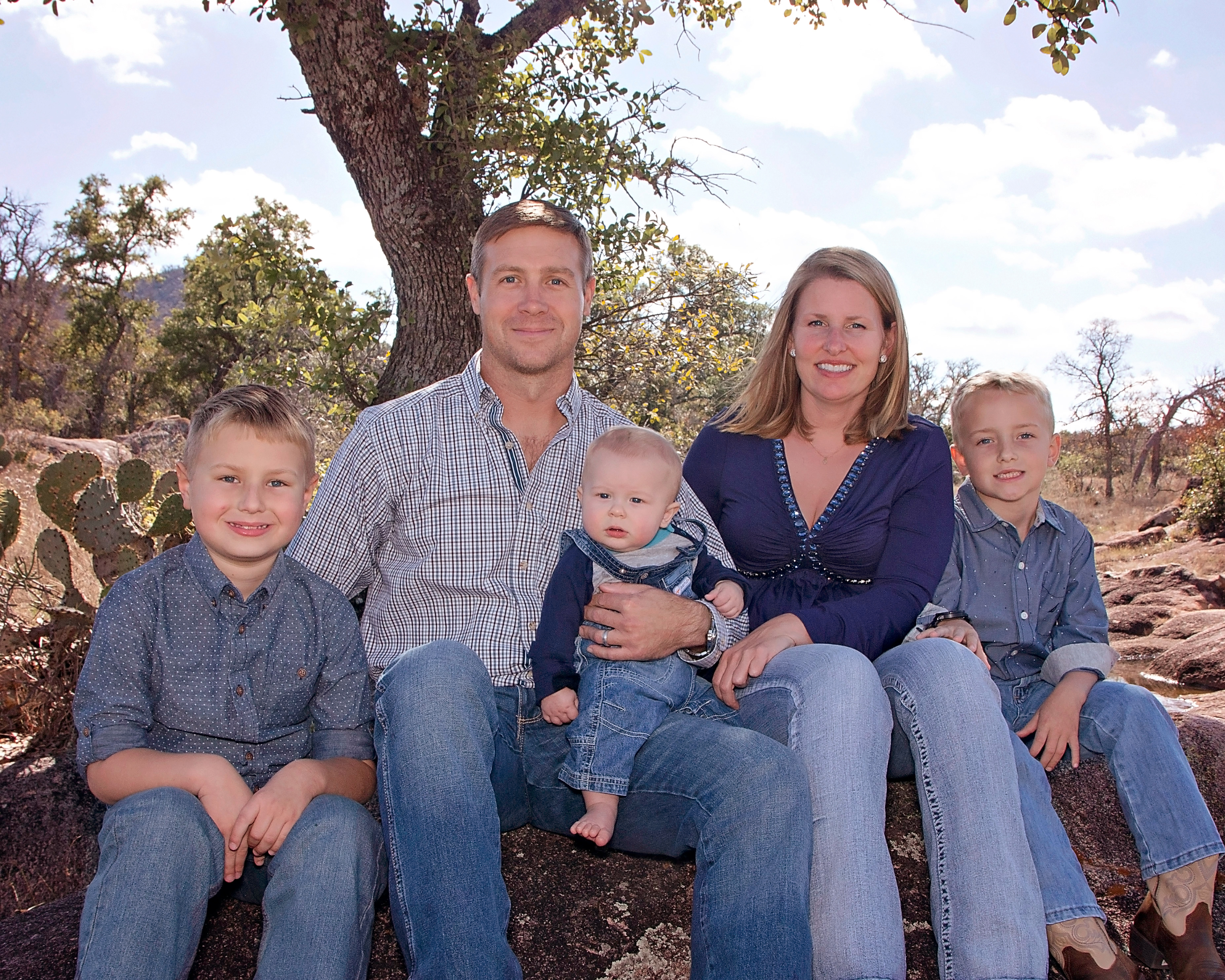 Family Portraits in Llano, TX
