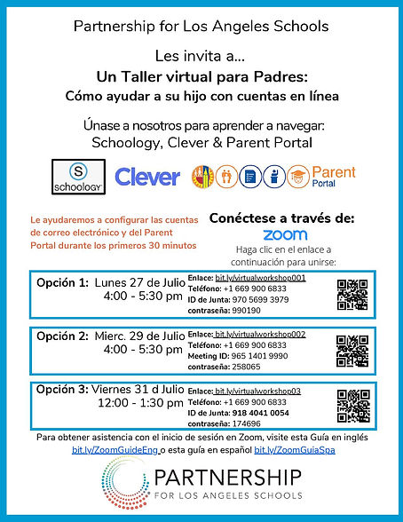 Spanish - Summer Series for families 202