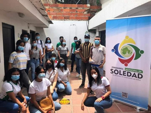 Personería Municipal realiza mesa de trabajo con personeros estudiantiles de Soledad