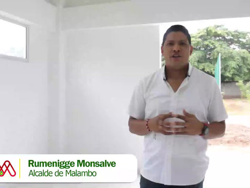 Alcalde Rumenigge Monsalve entregó nuevo comedor a I.E. Juan Domínguez Romero de Caracolí