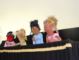 """Bible Blabber Puppet Team"""