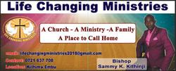 LCM-Embu Bishop Sammy Kinoti