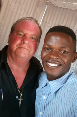 Pastor Tom and Peter Okoth
