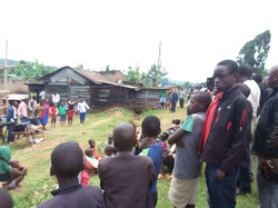 Village open Air church meeting