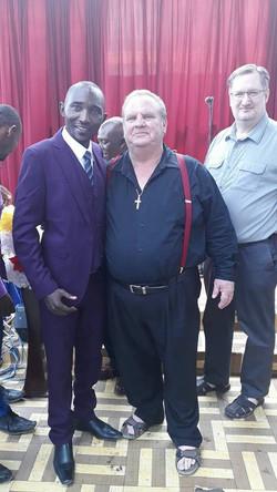 Sammy K and Pastor Tom