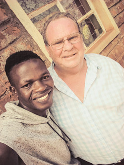 Peter Okoth and Pastor Tom
