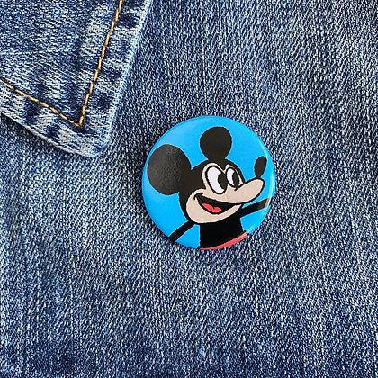 Hey Mickey! Button
