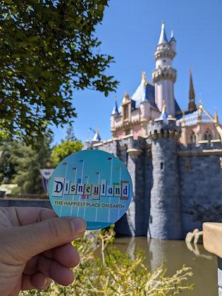 Holographic Disneyland Sticker
