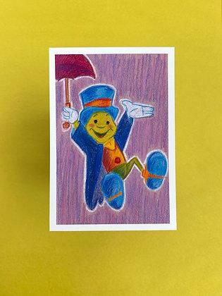 Jiminy Cricket! - Print