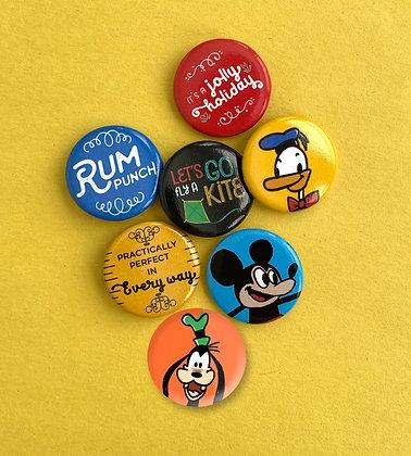 Mix 'n' Match Buttons - Set of 4