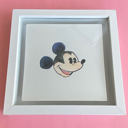 Original Watercolor Painting - Mickey Mouse