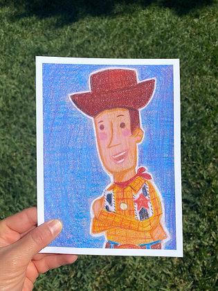 Howdy Howdy Howdy Woody Toy Story - Print
