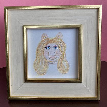 Original Art  - Miss Piggy