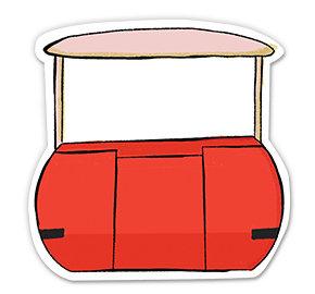 Peoplemover - Sticker