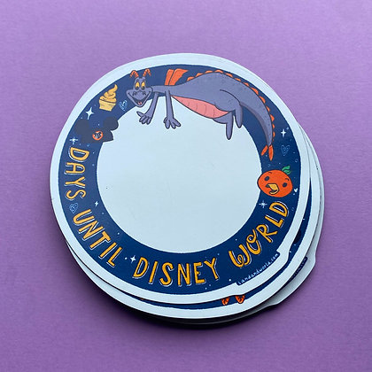 Disney World Countdown Magnet