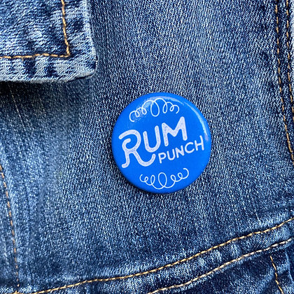 Rum Punch - Mary Poppins Button
