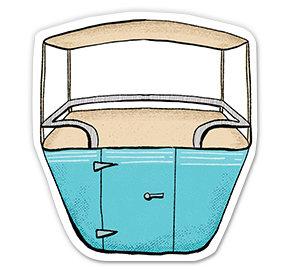 Skyway Buckets - Sticker